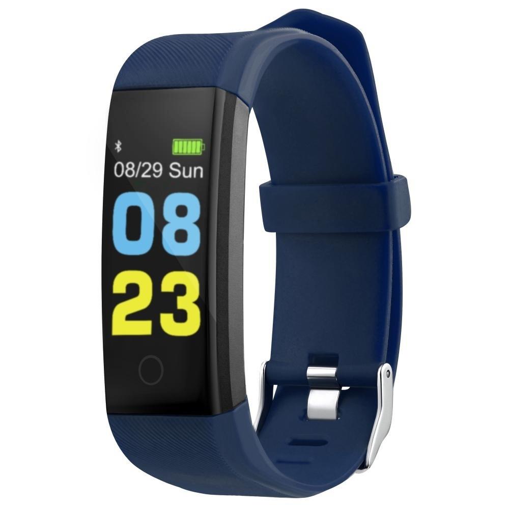 Фитнес-браслет с измерением давления и пульса Elband LM7 синий