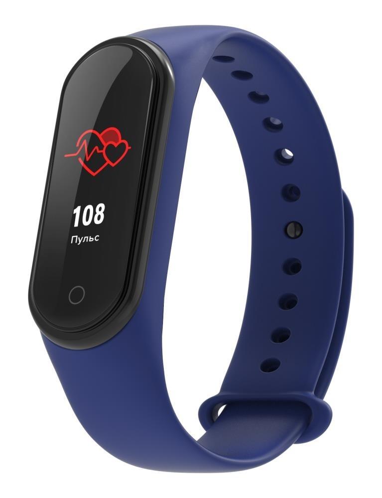 Фитнес-браслет с измерением давления и пульса Elband A9 синий