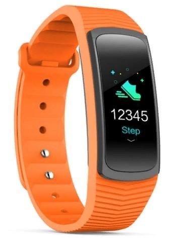 Фитнес-браслет с измерением давления и пульса SMA B3 оранжевый