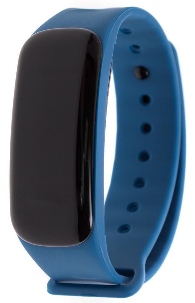 Фитнес-браслет с измерением давления и пульса Gsmin C1 Plus синий
