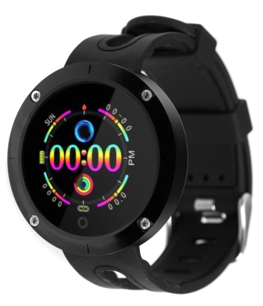 Фитнес-часы с измерением давления и пульса Gsmin DM58 (2019) черные