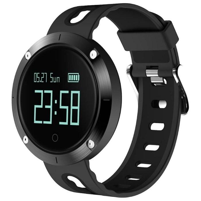 Фитнес-часы с измерением давления и пульса Gsmin DM58 черные