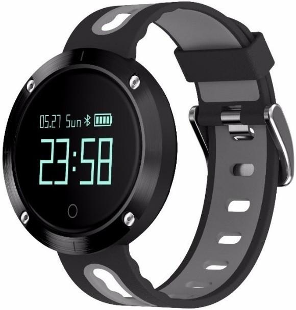 Фитнес-часы с измерением давления и пульса Gsmin DM58 черно-серые