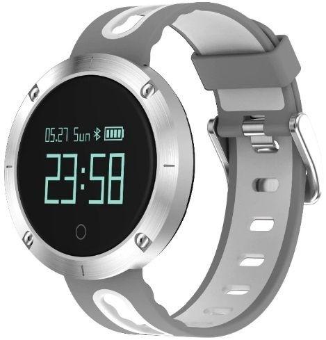 Фитнес-часы с измерением давления и пульса Gsmin DM58 серебристые