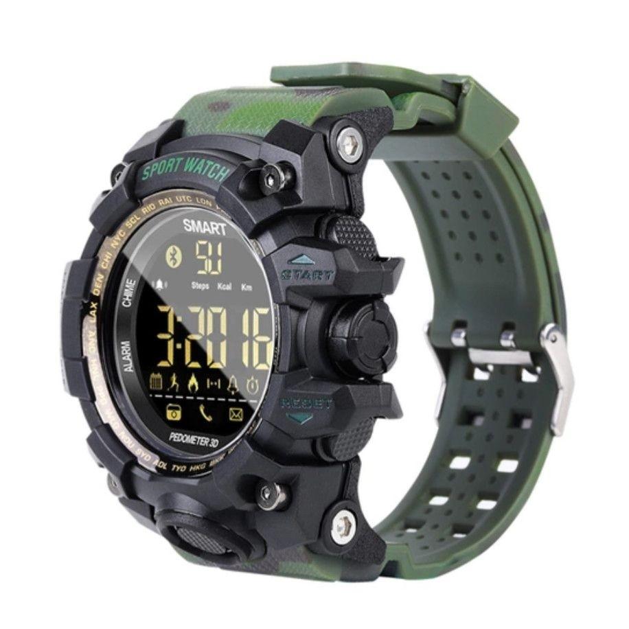Фитнес-часы Gsmin EX16s камуфляж