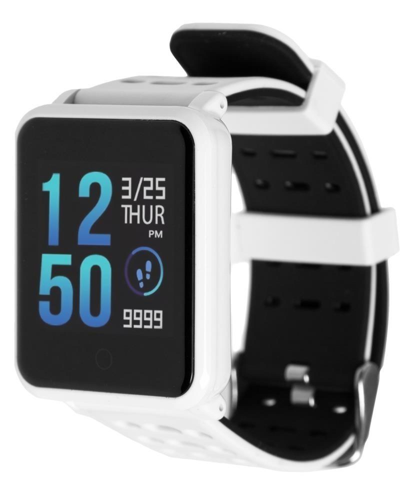 Фитнес-часы с измерением давления и пульса Gsmin N88 белые