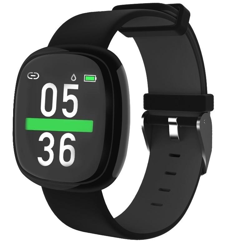 Фитнес-часы с измерением давления и пульса Gsmin P2 черные