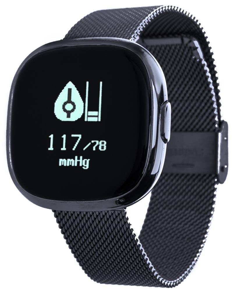 Фитнес-часы с измерением давления и пульса Gsmin P2s черные