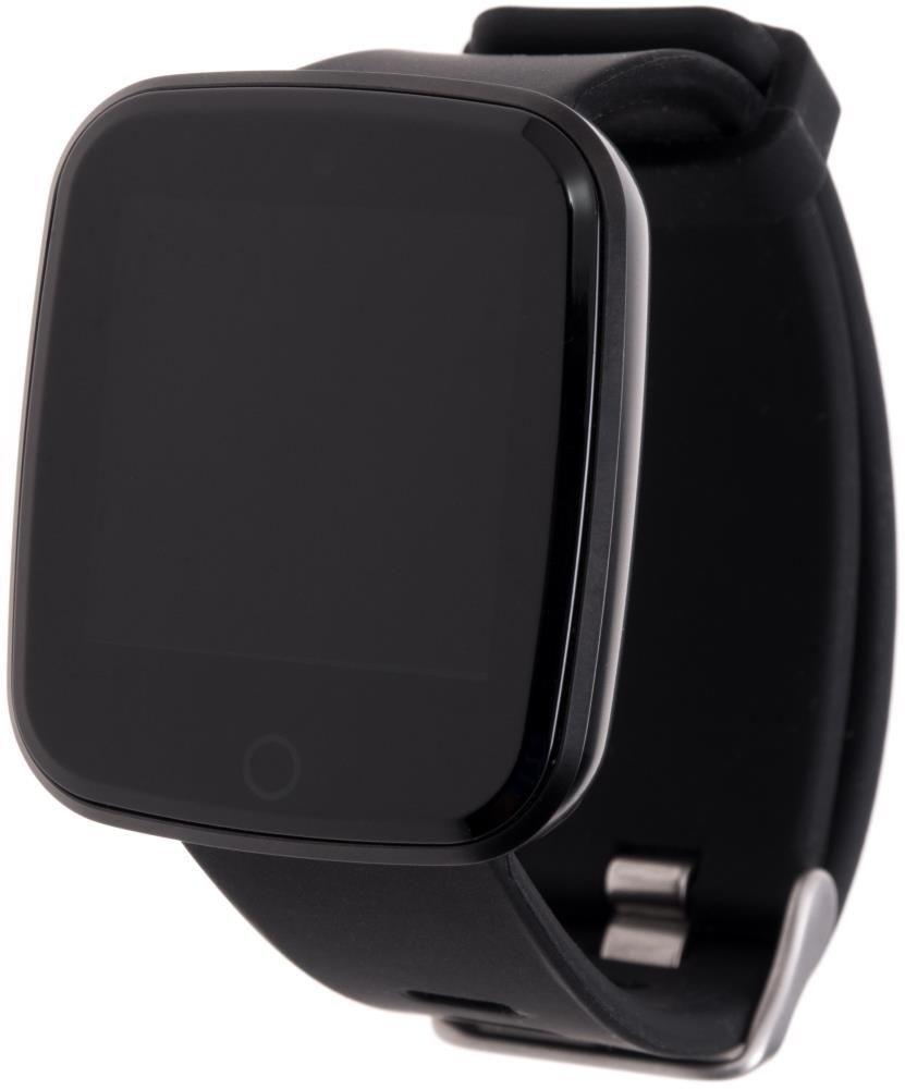 Фитнес-часы с измерением давления и пульса Gsmin V6 черные