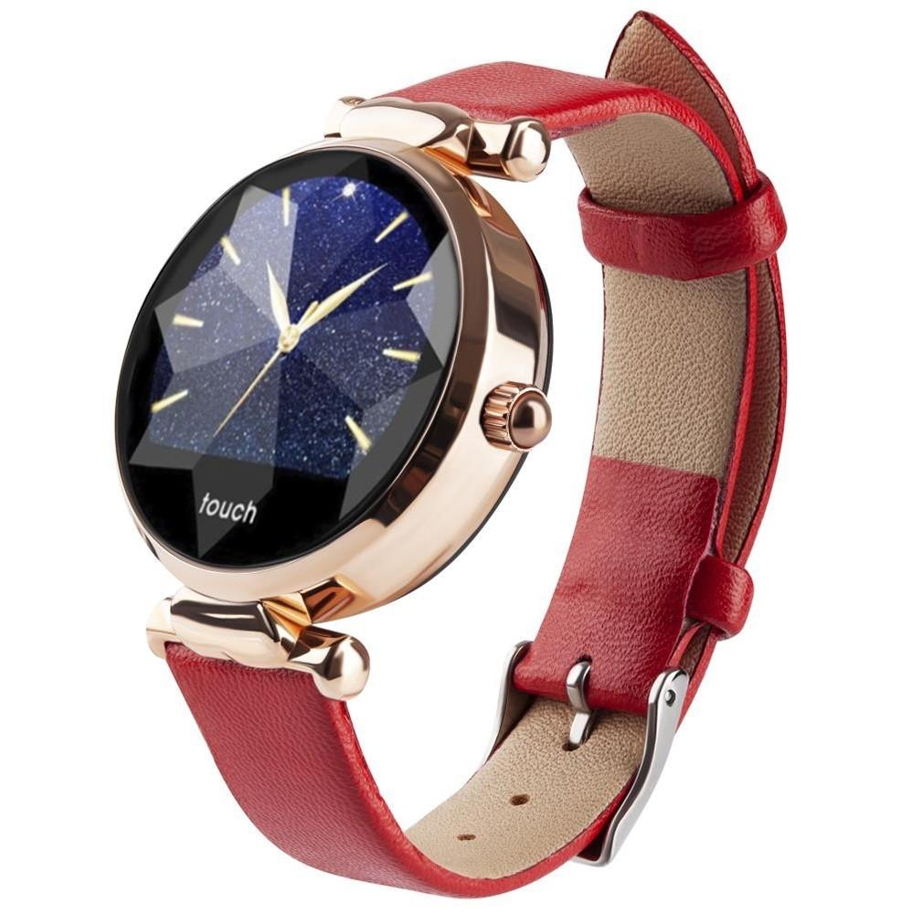 Фитнес-часы с измерением давления и пульса Gsmin WP11 красные