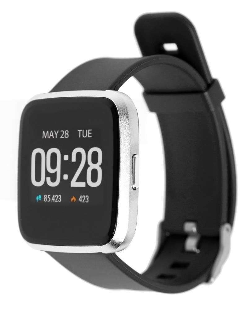Фитнес-часы с измерением давления и пульса Gsmin WP20 черные