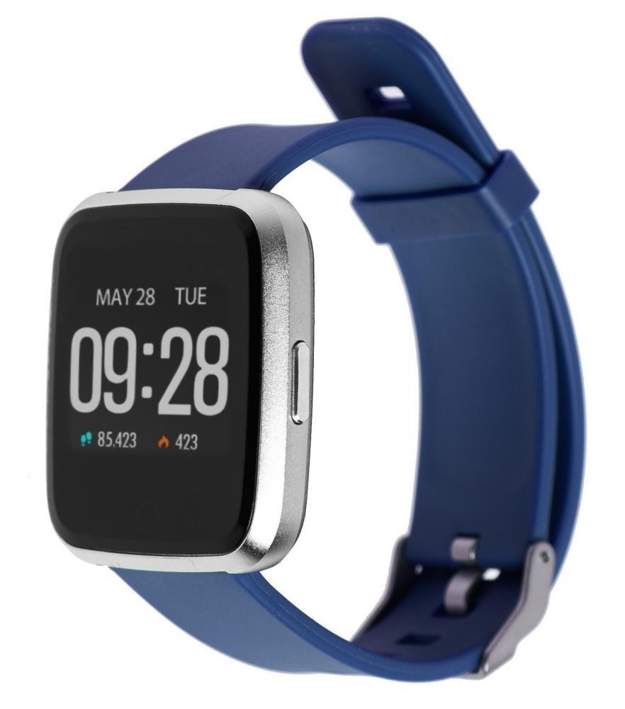Фитнес-часы с измерением давления и пульса Gsmin WP20 синие