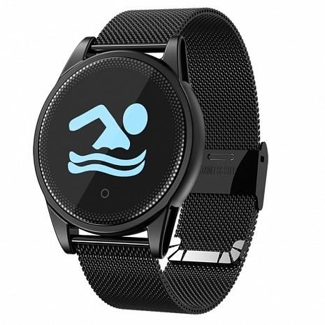 Фитнес-часы с измерением давления и пульса Gsmin WP33s черные