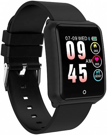 Фитнес-часы с измерением давления и пульса Gsmin WP41 черные