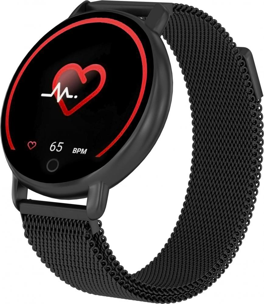 Фитнес-часы с измерением давления и пульса Gsmin WP50 (2020) металл, черные