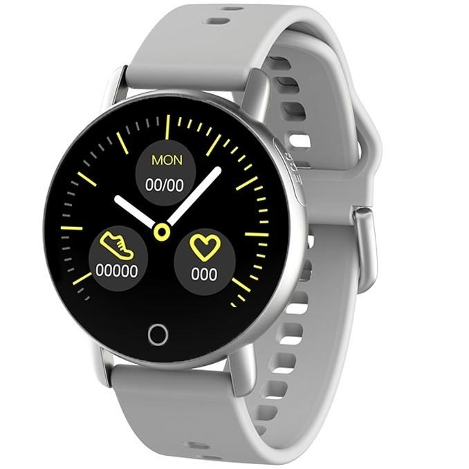 Фитнес-часы с измерением давления, пульса и ЭКГ Gsmin WP60 серые