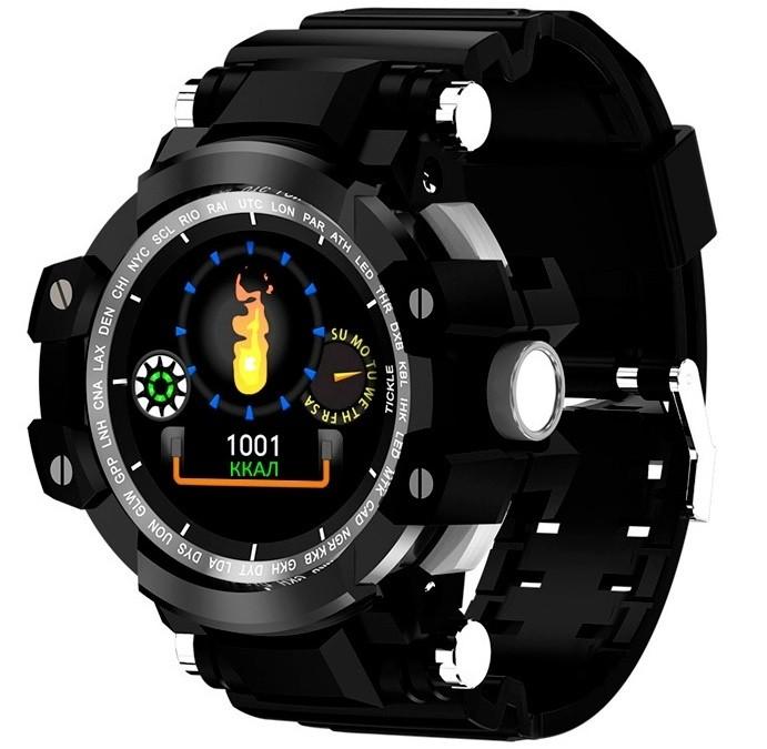 Фитнес-часы с измерением давления и пульса Gsmin WP72 черные