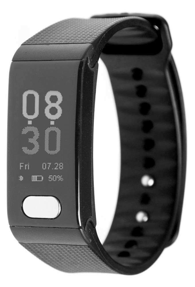 Фитнес-браслет с измерением давления, пульса и ЭКГ Gsmin WR102s черный
