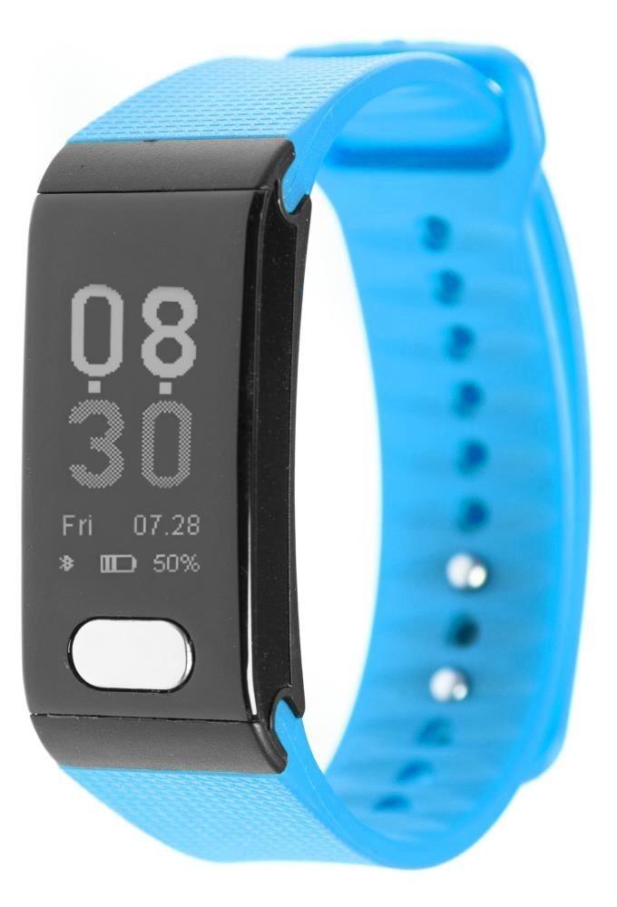 Фитнес-браслет с измерением давления, пульса и ЭКГ Gsmin WR102s синий