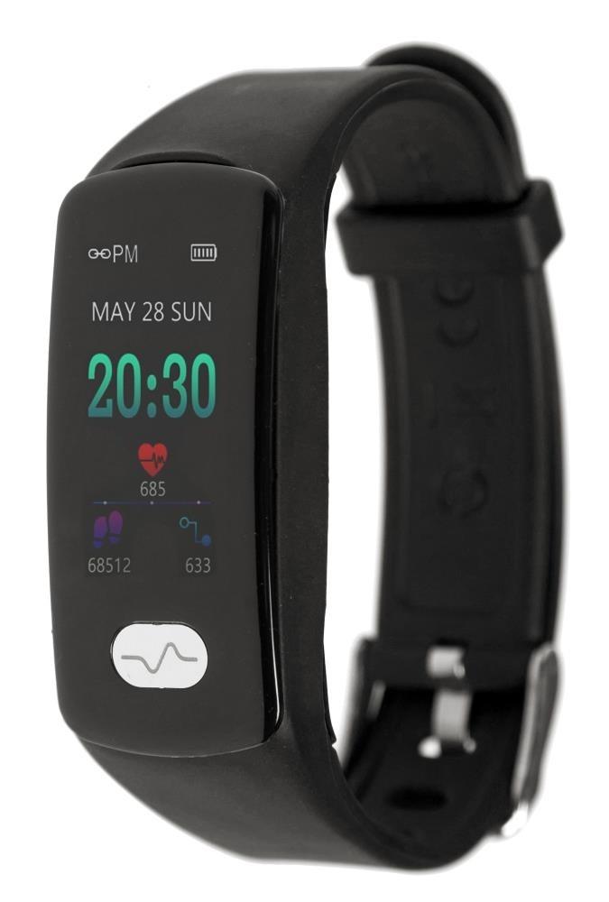 Фитнес-браслет с измерением давления, пульса и ЭКГ Gsmin WR11 (2019) черный
