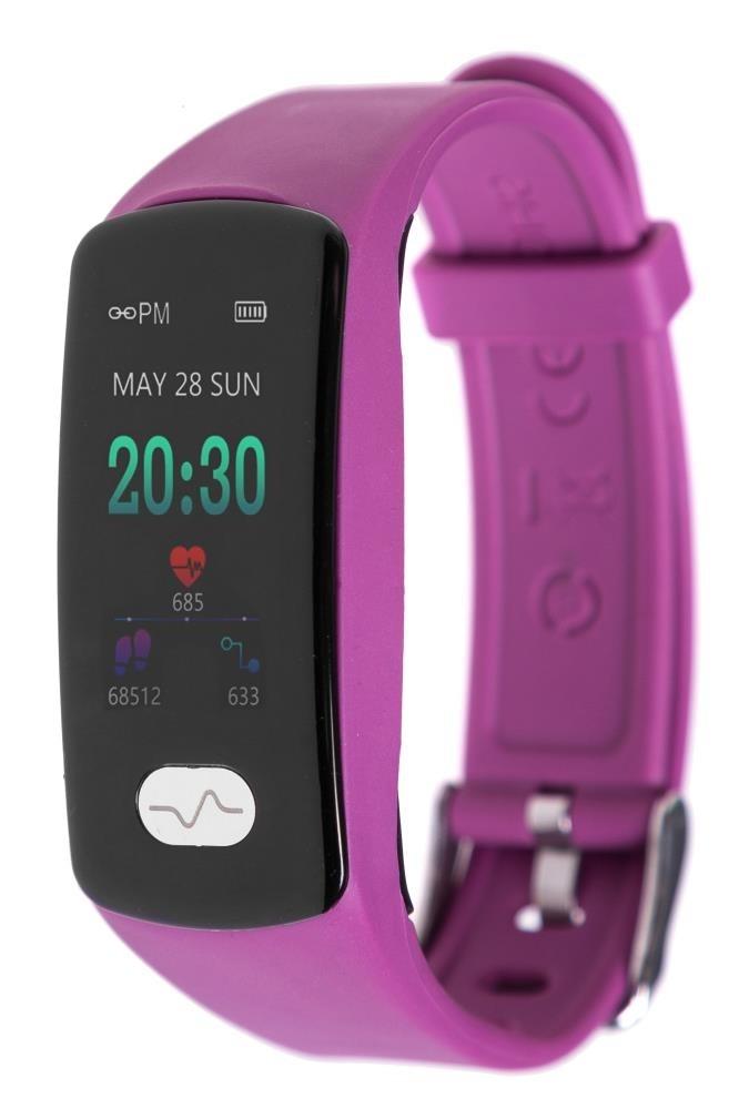Фитнес-браслет с измерением давления, пульса и ЭКГ Gsmin WR11 (2019) фиолетовый