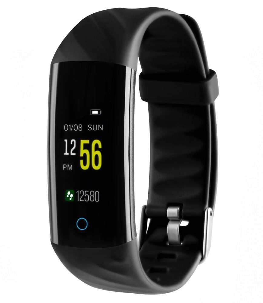 Фитнес-браслет с измерением давления и пульса Gsmin WR22 черный