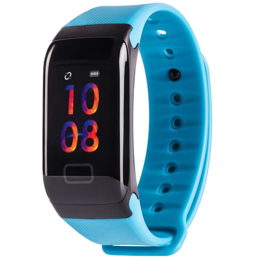 Фитнес-браслет с измерением давления и пульса Gsmin WR41 (2019) синий