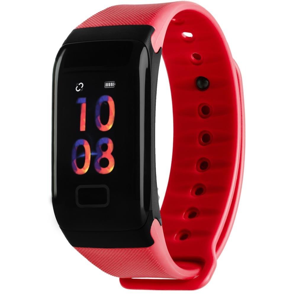 Фитнес-браслет с измерением давления и пульса Gsmin WR41 (2019) красный
