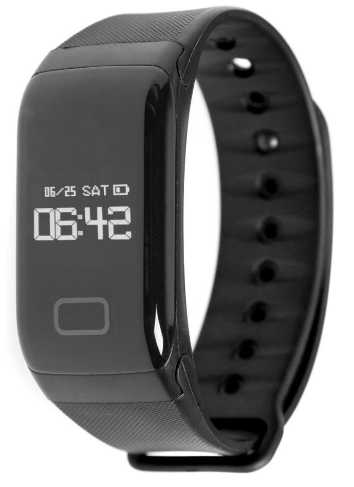 Фитнес-браслет с измерением давления и пульса Gsmin WR41 черный