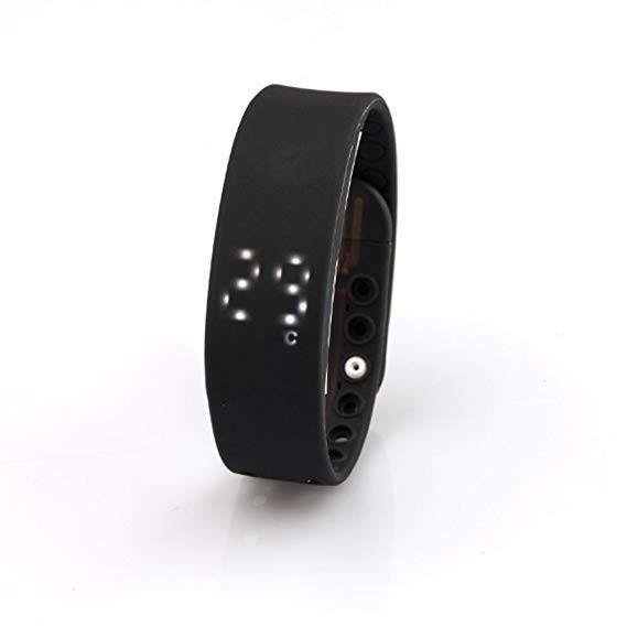 Фитнес-браслет HRS W2P черный