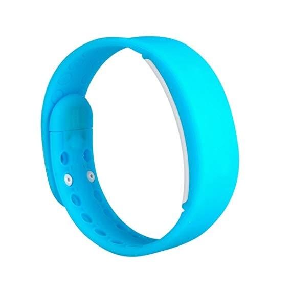 Фитнес-браслет HRS W2P голубой