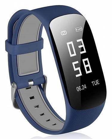 Фитнес-браслет с измерением пульса HRS Z17 синий