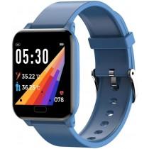 Фитнес-часы с измерением давления и пульса Elband SW06 синие