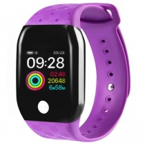 Фитнес-часы с измерением давления и пульса Gsmin A88+ (2019) фиолетовые