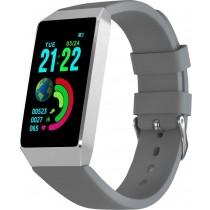 Фитнес-браслет с измерением давления и пульса Gsmin B3 серый