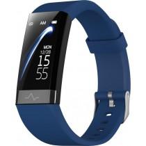 Фитнес-браслет с измерением давления, пульса и ЭКГ Gsmin CD01 (2020) синий