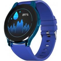 Фитнес-часы с измерением давления и пульса Gsmin WP7 синие