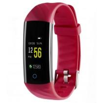 Фитнес-браслет с измерением давления и пульса Gsmin WR22 красный