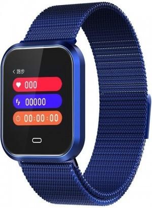 Фитнес-часы с измерением давления и пульса Elband CD16 синие