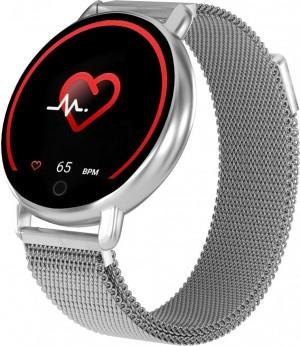 Фитнес-часы с измерением давления и пульса Gsmin WP50 (2020) металл, серебристые