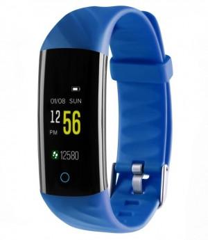 Фитнес-браслет с измерением давления и пульса Gsmin WR22 синий