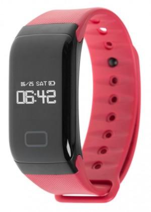 Фитнес-браслет с измерением давления и пульса Gsmin WR41 красный